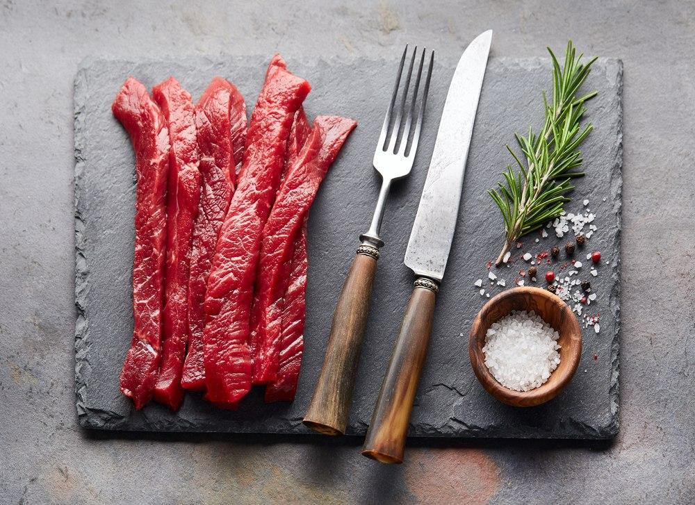 گوشت بیف استروگانف
