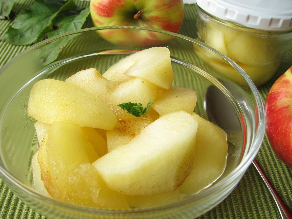 طرز تهیه کمپوت سیب ساده