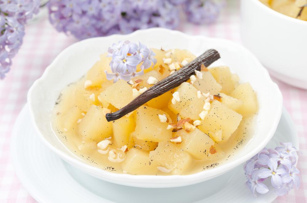 سریع ترین طرز تهیه کمپوت سیب با شکر