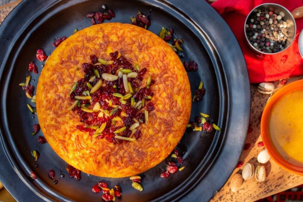 طرز تهیه ته چین مرغ بدون فر