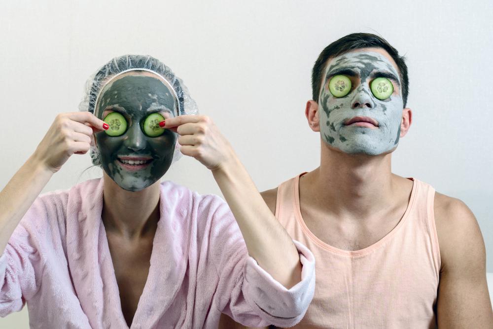 ماسک خیار برای رفع خشکی پوست