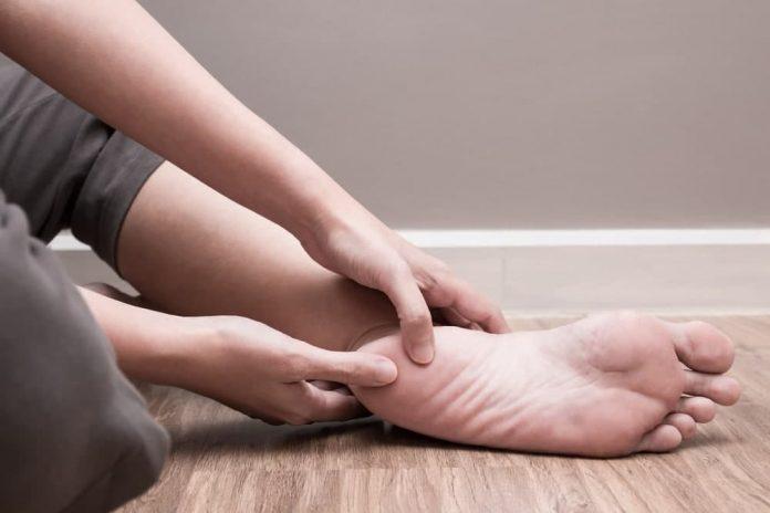درمان خار پاشنه در منزل