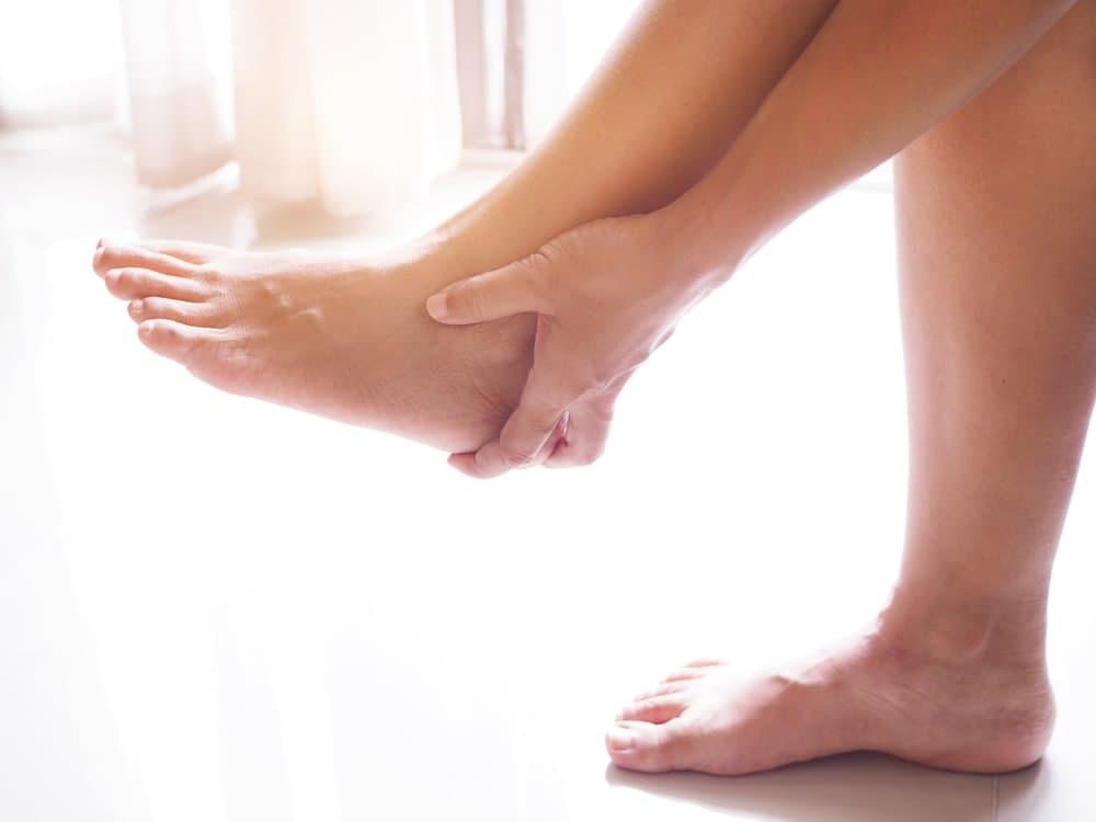 روغن تراپی برای درد پا