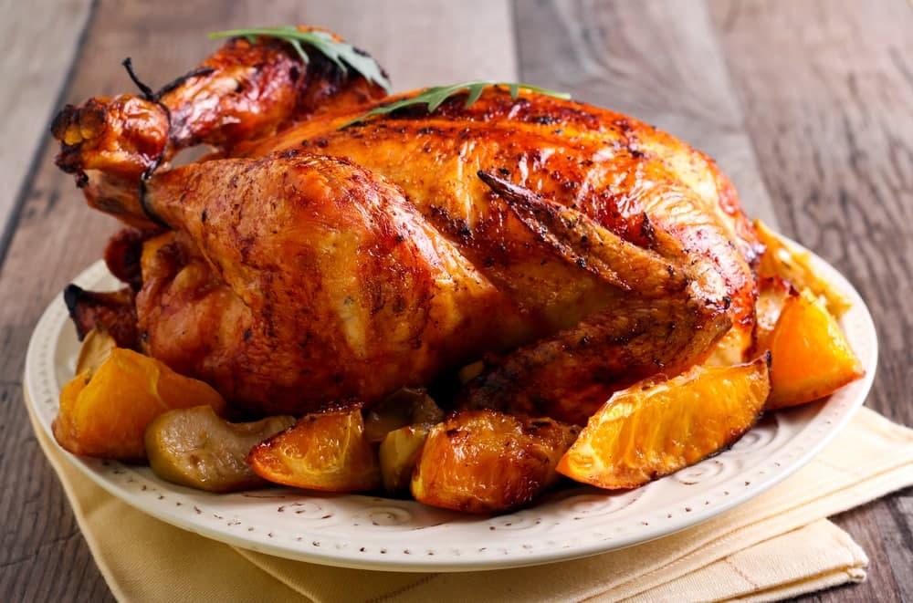 تهیه مواد داخل مرغ