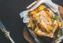 آموزش مرغ شکم پر در خانه
