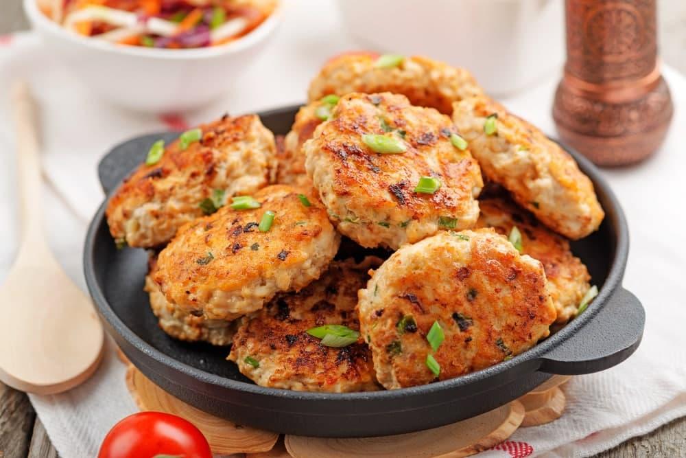 غذا با مرغ و سیب زمینی سریع
